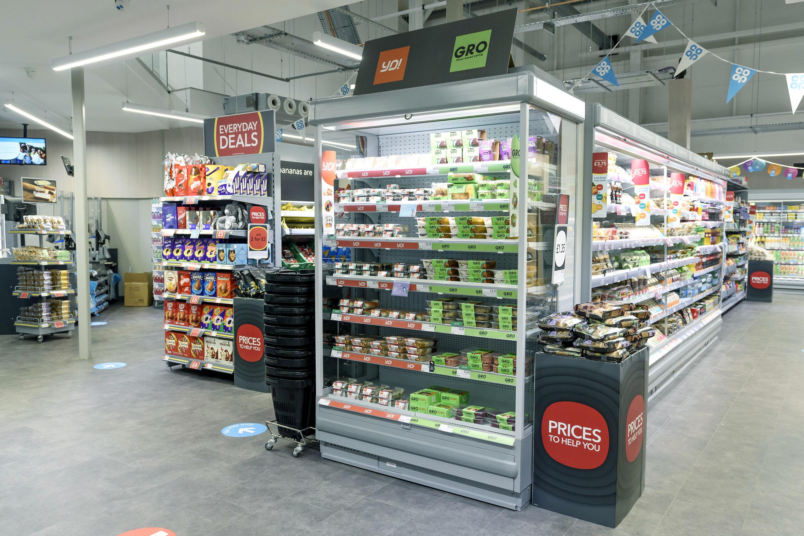 Co Op food, Cornish Gateway Services, Roche.